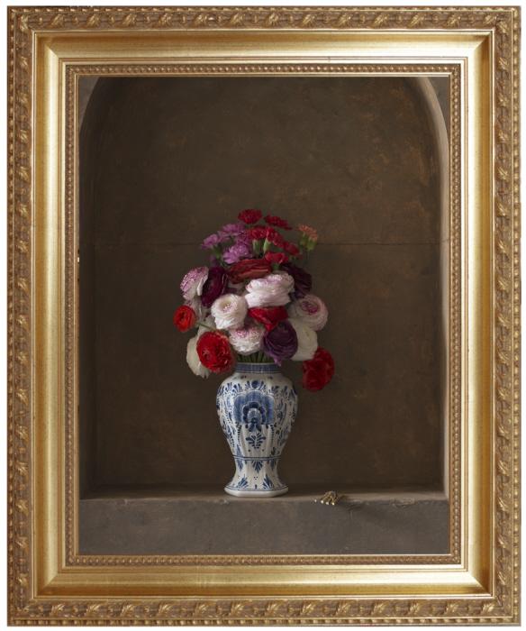 Natures mortes avec fleurs for Bouquet de fleurs dans une boite